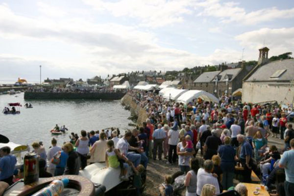 Johnshaven Fish Festival Crowd