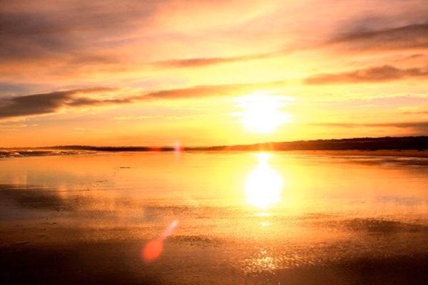 st cyrus sunset landscape